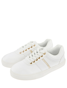 Casual Gold Trim Trainer by Accessorize