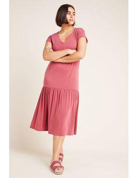 Erica V Neck Midi Dress by Coa