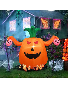 Dreamone 4 Foot Halloween Inflatable Pumpkin Halloween Decorations by Ebay Seller