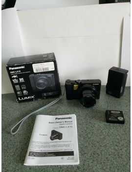 Panasonic Lumix Lx10 20.1 Mp Digital Camera   Black (Kit W/ 24 72mm Lens) by Panasonic