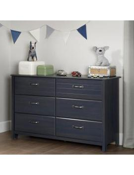Ulysses 6 Drawer Blueberry Dresser by South Shore