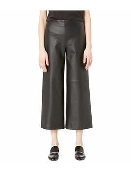 Leather Cropped Pants W/ Pockets by Adam Lippes