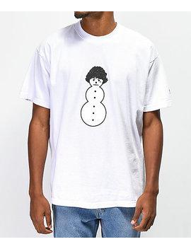 Brooklyn Projects X Shoreline Mafia Ghee Man White T Shirt by Brooklyn Projects