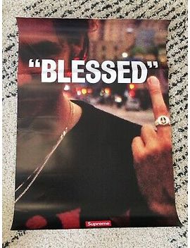 Supreme Blessed Posters Brand New Sean Pablo by Ebay Seller