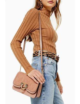 Double Nude Panther Cross Body Bag by Topshop