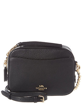 Coach Polished Pebbled Leather Camera Bag by Coach