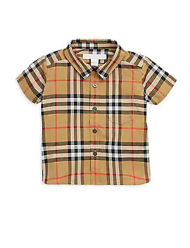 Baby Boy's & Little Boy's Fred Button Up Shirt by Burberry