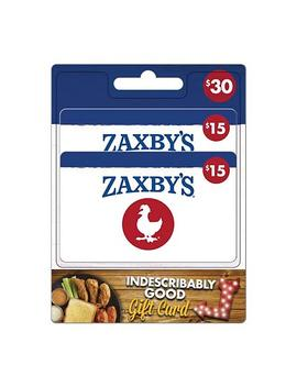 Zaxby's $30 Value Gift Cards   2 X $15 by Zaxby's