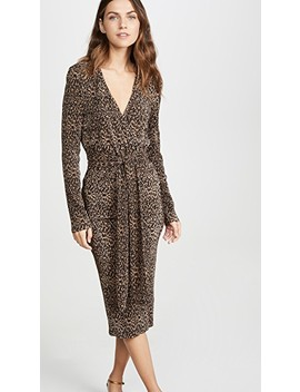 Saloon Long Sleeve Dress by The Fifth Label