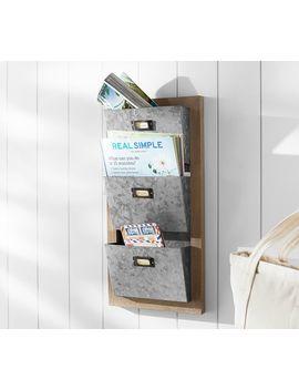 Seadrift Modular System, 3 Tier Letter/File Bin by Pottery Barn