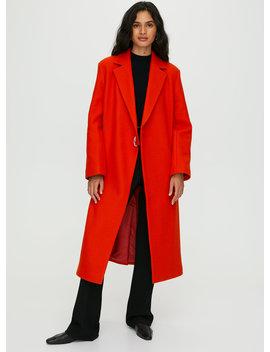 Blythe Wool Coat by Babaton