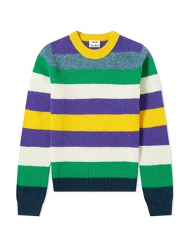 Acne Studios Kai Seasonal Stripe Wool Knit by Acne Studios