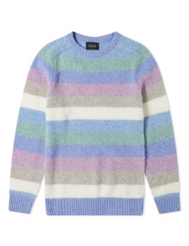 Howlin' Wool Digger Stripe Crew Knit by Howlin'