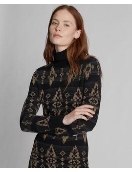 Cashmere Silk Sweater Dress by Ralph Lauren