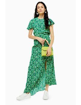 Tall Ditsy Print Midi Dress by Topshop