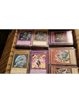 Yugioh Collection Lot Over 1000+ Mixture Of Common And Rare Cards!! by Ebay Seller