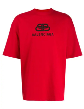 'bb' T Shirt by Balenciaga