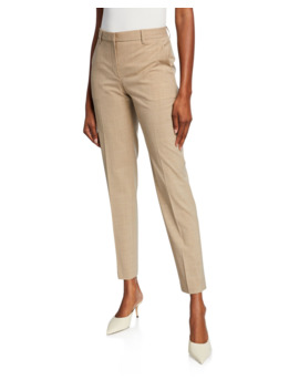 Travel Wool Tailored Trousers by Theory