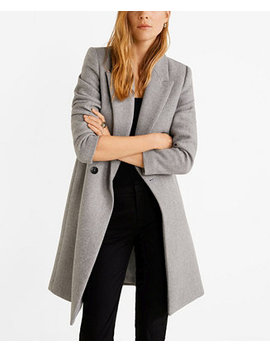 Structured Wool Coat by General