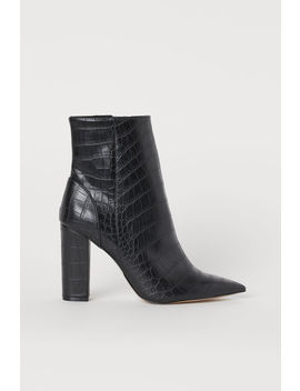 Bottines à Motif Croco by H&M