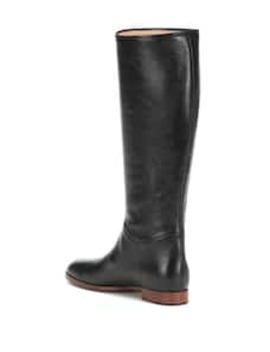 Stiefel Aus Leder by Gucci