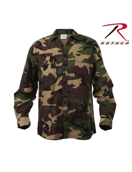 Rothco Extra Heavyweight Camo Flannel Shirts by Rothco