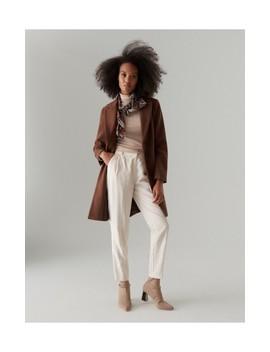 Klasický Vlnený Kabát by Mohito