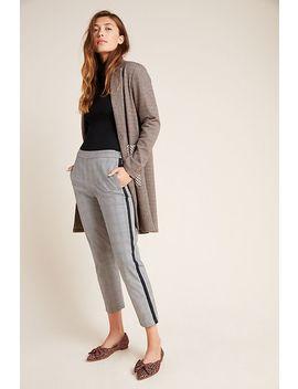 Adela Cropped Side Stripe Trousers by Velvet By Graham & Spencer
