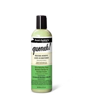 Aunt Jackie's Curls & Coils Quench Moisture Intensive Leave In Conditioner   12 Fl Oz by Aunt Jackie's