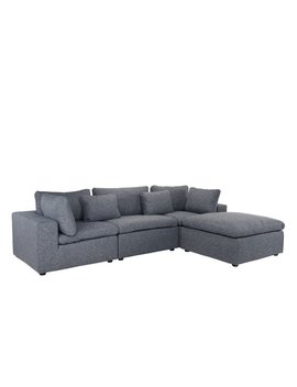Vernet Right Hand Facing Modular Sectional by Allmodern