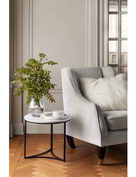 Rond Marmeren Dienblad by H&M