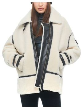 Golden Prairie Shearling Jacket by Moose Knuckles