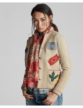 Western Motif Sweater Jacket by Ralph Lauren