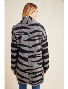 Basel Zebra Cardigan by Moth