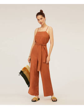 Langer Overall Aus Tencel® by Oysho