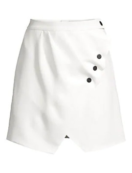 Zoelle Mini Wrap Skirt by Sandro