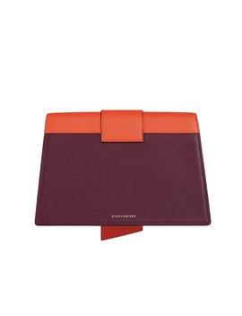 Crescent Shoulder   Tri Colour Purple Potion/Maple/Vanilla by Strathberry