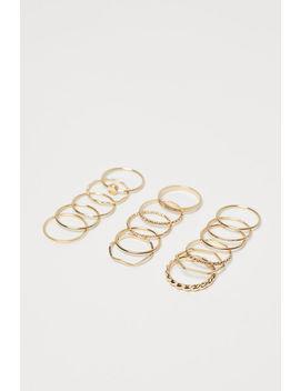 16er Pack Ringe by H&M