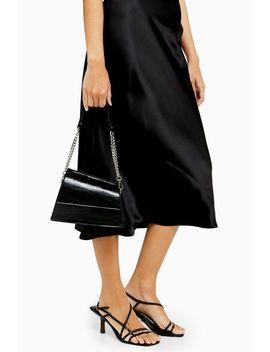 Star Black Mini Shoulder Bag by Topshop