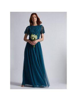 Showcase Tall Green Tina Maxi Dress by Dorothy Perkins