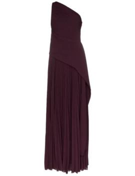 Vestido De Fiesta Emelyne Plisado by Solace London