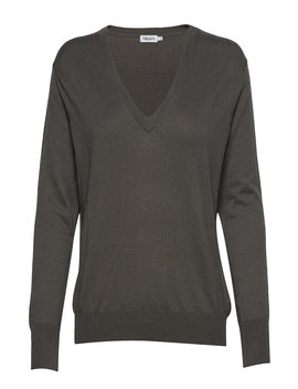 Silk Mix V Neck Sweater by Filippa K