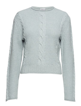 Cable R Neck Sweater by Filippa K