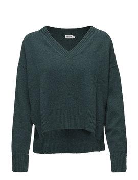 Cropped V Neck Sweater by Filippa K