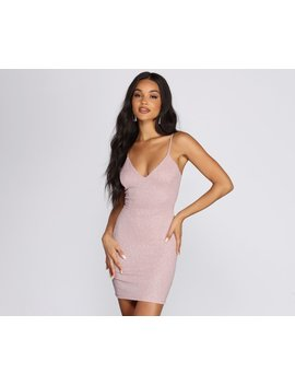 Glitter Babe Mini Dress by Windsor