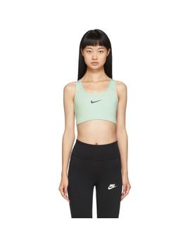 Green Swoosh Bra by Nike