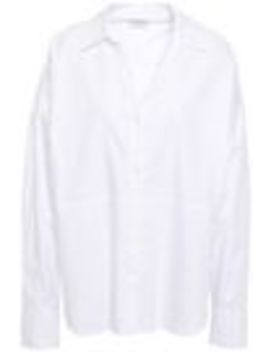 Cotton Twill Shirt by Sandro