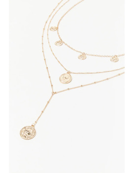 Ancient Coin Pendant Necklace Set by Forever 21