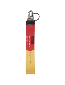 Red & Yellow 2.0 Industrial Keychain by Off White