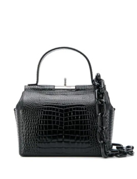 Croc Embossed Tote Bag by Gu De
